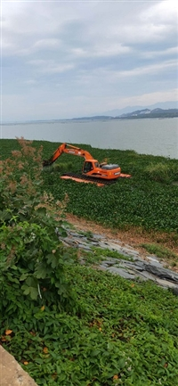 荆州沙市水陆两用挖掘机清淤服务