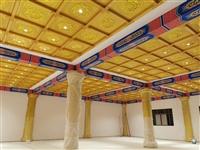 寺庙吊顶古建筑寺庙彩绘吊顶