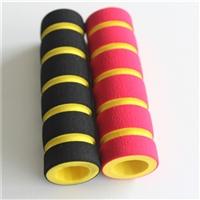 东泰定做优质环保pu发泡海绵管 彩色NBR橡胶泡棉护套