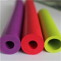 彩色环保NBR橡塑管 防震保温橡塑条批发