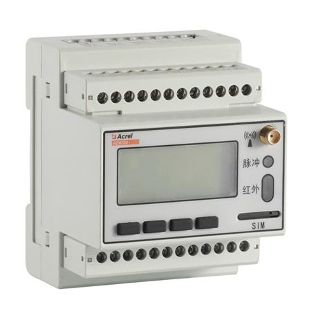 物联网导轨式安装4G多功能仪表