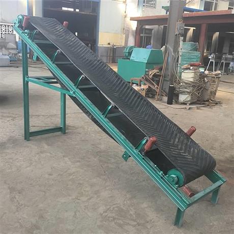 爬坡皮带输送机供应商 物流输送设备的作用 Ljxy 爬坡输送