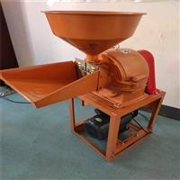 玉米大豆高粱磨面机 惠林 新款加宽加大玉米磨面机