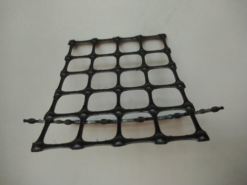 抗拉强度25kN/m双向土工格栅用于外贸