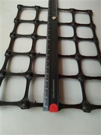 纵横向拉伸强度15kN/m塑料双向拉伸土工格栅加工定做