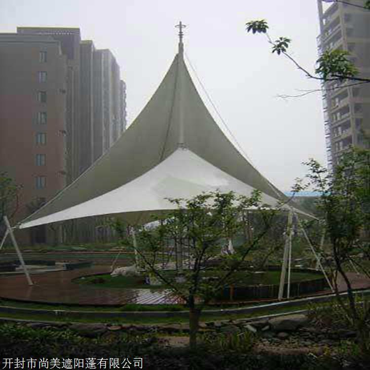 晋中市 室外用景观膜结构 走廊膜结构 供应