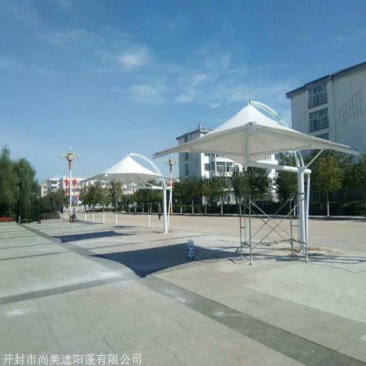 邯郸市 室外用景观膜结构 停车棚 价格优惠