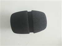 广州高密度海绵话筒套厂家 电视台台标logo话筒海绵罩