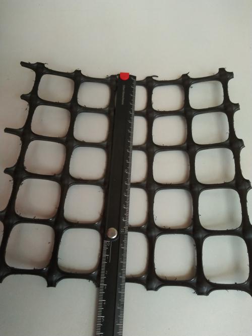 抗拉强度25kN/m双向拉伸塑料土工格栅外销专用