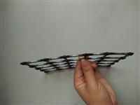 抗拉强度15kN/m双向拉伸塑料土工格栅施工简单快捷
