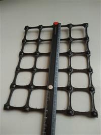 抗拉强度30kN/m双向拉伸塑料土工格栅外贸专用
