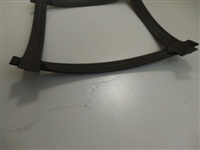 凸结点钢塑土工格栅多少起卖  钢塑格栅