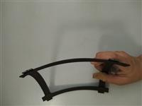 凸结点钢塑土工格栅尺寸  整体钢塑格栅