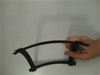 钢塑格栅施工图片  凸结点钢塑土工格栅