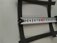 双向钢塑格栅GSZ90,结点高度5毫米