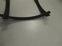 凸结点钢塑土工格栅GSGS140-140,焊接点剥离强度500N
