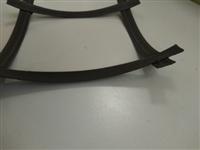双向整体钢塑土工格栅GSGS70-70施工图片