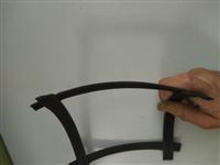 钢塑土工格栅优点  凸结点钢塑土工格栅