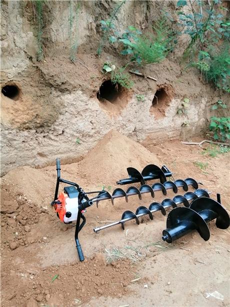 灌注桩钻孔机深层打洞一次成型