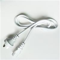 容川现货 澳标三孔插头电源线纯铜3芯品字尾电源线全国包邮
