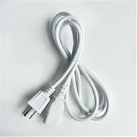 容川供应IEC57橡胶电源线美标三插、烟斗插、美标三插电源线