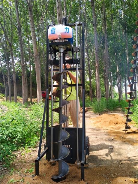 螺旋式种树打坑机的价格和型号