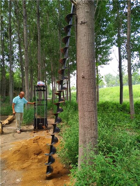 建筑工程用基坑打桩钻孔机设备