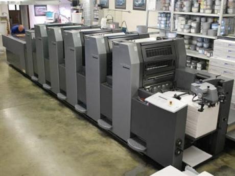 二手印刷机进口清关代理,上海印刷机报关公司