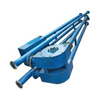次氧化锌管链式输送机 倾斜式管链提升机 LJXY 粉料管链提