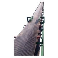 砖场沙石场自动运输机 电动升降货物皮带运输机 圣利皮带机输送