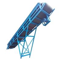 皮带输送机制造商 650方车站码头铲取料运输机 圣利饲料装车