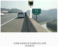沈海高速便捷式能见度 及路面状况在线监测系统,傻瓜式安装