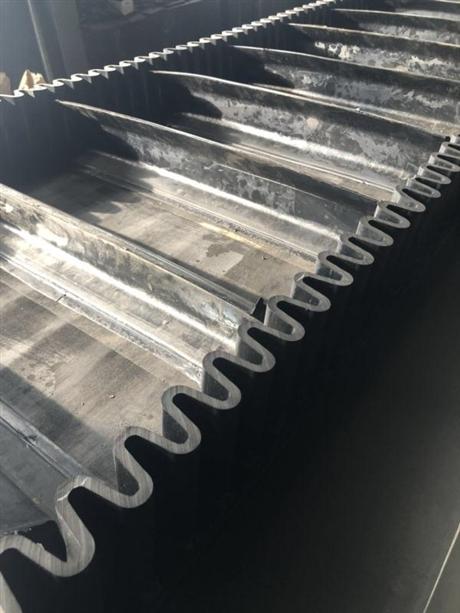 波纹挡边隔板输送带生产加工销售