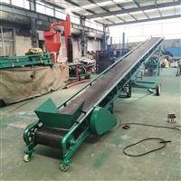 袋装芝麻爬坡皮带输送机 移动式沙土爬坡皮带输送机zcjb 生产