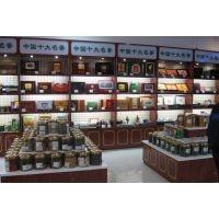 从事成都茶叶展柜货柜 成都茶叶店展柜 展示柜货柜定做的厂家