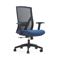 办公会议椅 升降职员椅 时尚电脑椅 美观实用 青岛世景家具厂家