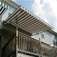 户外曲臂遮阳棚 厂家定制安装 适用于门店 底商