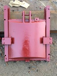 厂家供应铸铁闸门 PZGM型潜没式铜止水铸铁闸门  铸铁圆闸门