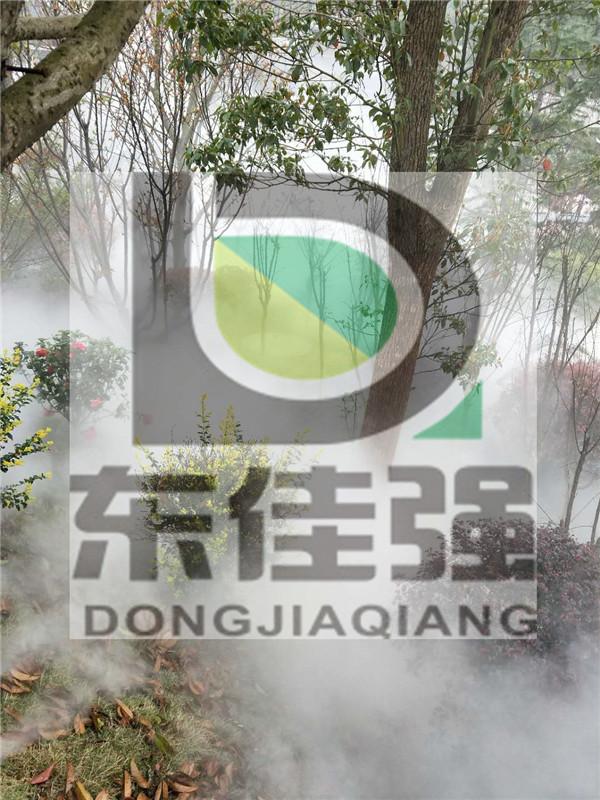 深圳人造雾园林高压雾喷主机经验丰富