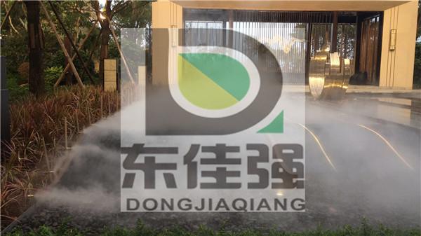 深圳景观喷雾雾森系统造价方案