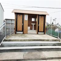 接定制铝合金环保公厕移动厕所