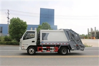 国六4方压缩垃圾车价格 巧夺天工4方蓝牌压缩车报价
