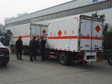 重庆江铃民爆器材专用车8吨,9吨,10吨可选
