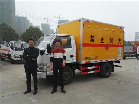 重庆江铃民爆器材专用车厂家现车供应