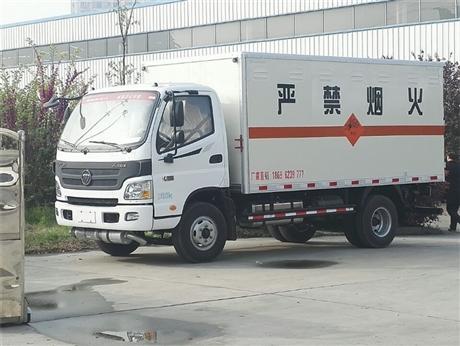 湖南国六民爆物品同载车,奥铃4吨炸药车