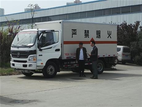 湖南国六民爆物品同载车,奥铃炸药车那有卖