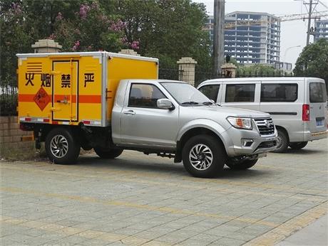 云南5米2民用爆破器材运输车购买