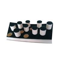 定制高密度海绵条 清洗海绵柱 管道清洗海绵生产厂
