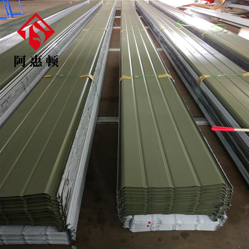 厂房金属屋面系统 防漏保温铝镁锰屋面板 阿惠顿65高立边铝镁锰板