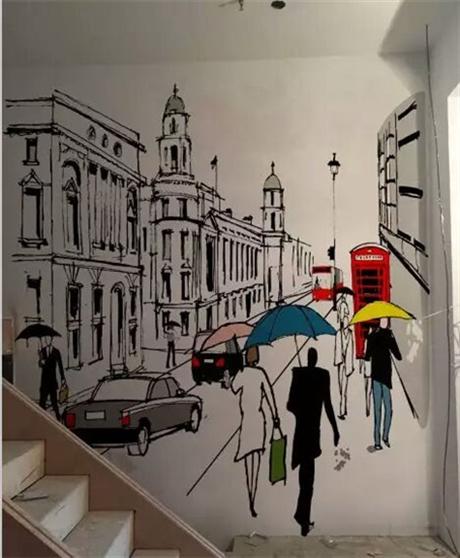 江苏墙绘彩绘涂鸦公司 南京墙绘价格50元起